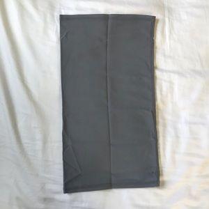 Neutral Gray Skirt Slip Shape-wear